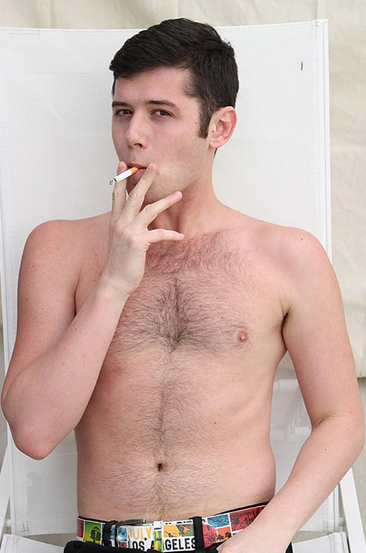 gay smoking adult services mascot